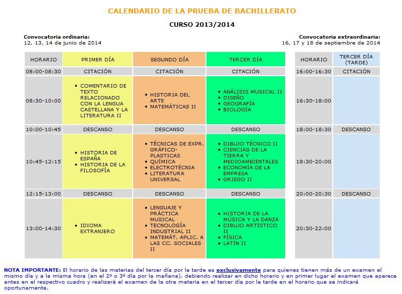 calendarioselectividad
